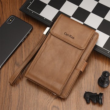 Faux Leather Multifunctional Wallet Phone Bag Card Holder
