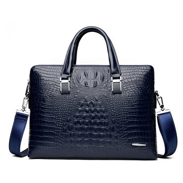 Business Alligator Faux Leather Handbags Crossbody Bags
