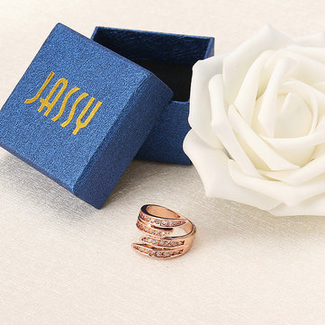 JASSY® Trendy Rose Gold Ring
