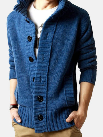Thicken Woolen Thermal British Style Sweaters