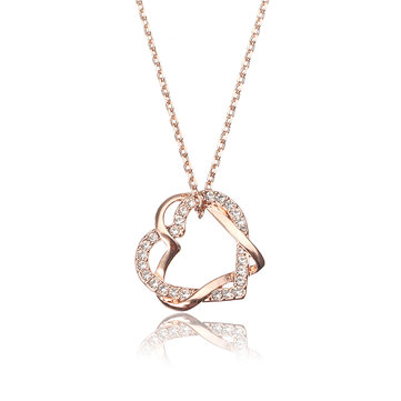 JASSY® Zirconia Heart Necklace