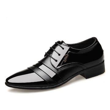 الرجال السود أشار تو أحذية رسمية