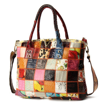 patchwork leather handbags Wholesale Online - NewChic