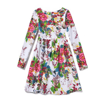 Flower Girls Casual Dress For 8Y-15Y