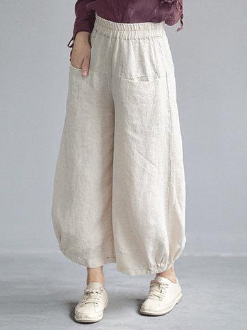Loose Wide Leg Casual Pants