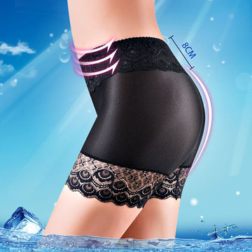 Embroidery Lace Seamless Breathable Boyshorts