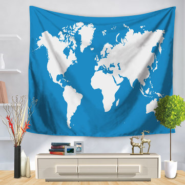 Buy world map wall tapestry Online, Best Cheap world map wall ... on