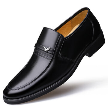 Men Genuine Leather Casual Formal Shoes