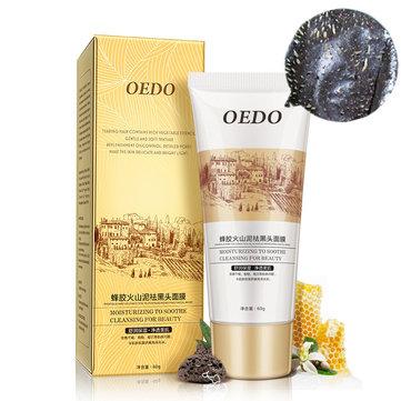 OEDO Black Mask Moisturizing Acne Treatment Blackhead Remove Peel Off Face Skin Care