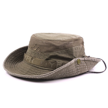 Embroidery Visor Bucket Hats