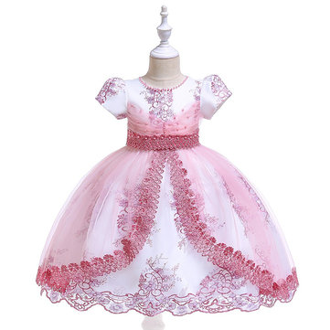 Flower Girls Princess Dress For 4Y-13Y