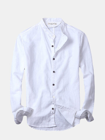 Summer Spring Casual Linen Shirt