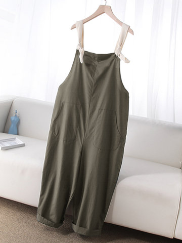 Casual Adjustable Harem Jumpsuit
