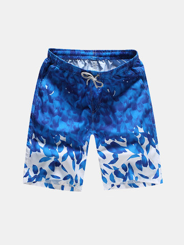 Quickly Dry Slim Fit Casual Knee Length Board Shorts