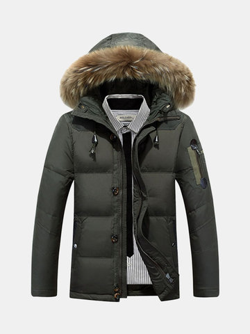 Winter Hooded Jacket for Men