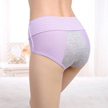 Cotton High Waisted Leakproof Panties