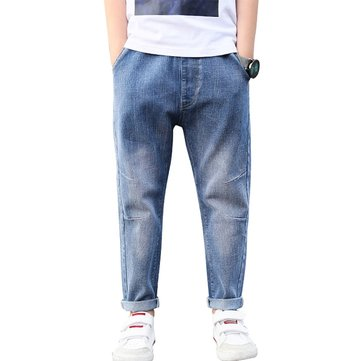 Cartone animato Modello Brief Casual Denim traspirante Pantaloni