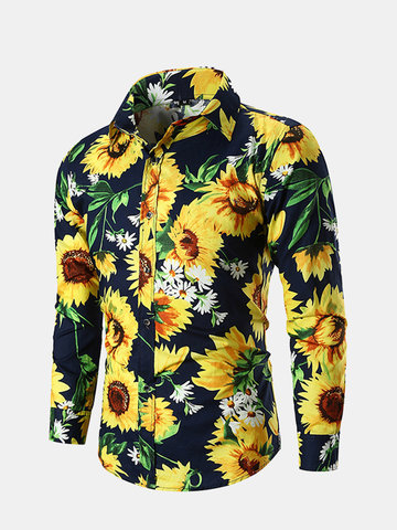 Sunflower Printed Casual Shirt