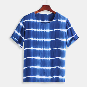 Mens Tie Dyed Casual T-shirt