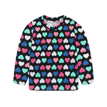 Kids Long Sleeve T-Shirt For 2Y-9Y