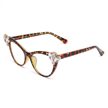 Unisex Vogue Personality Clear Lens Glasses