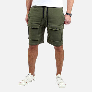 Mens Multi-pocket Sport Shorts