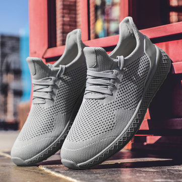 Männer Free Knitted Fabric Rnning Sneakers