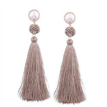 Boucles d'oreilles Fashion Pearl Longs