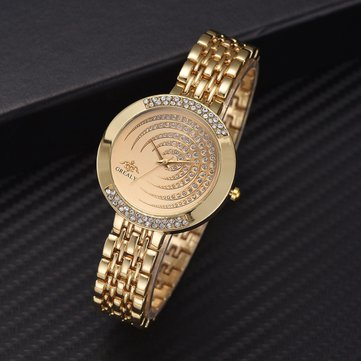 Trendy Gypsophila Quartz Watch, Gold