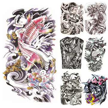Temporary Tattoo Paper Sleeves, Temporary Waterproof Tattoo Sticker ...