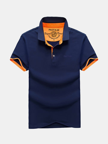 Spring Summer Business Casual Golf Shirt