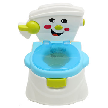 Kids Kids Removable Simulation Toilet Training Chair Early Learning Pee Trainer Salle de bain