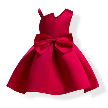 Toddler Girls Party Dress Pour 3Y-16Y