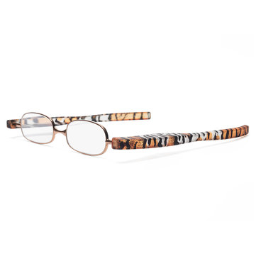 Chinese Style Pattern Foldable Reading Glasses