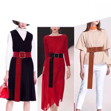 e31ebbe254 Vogue Waist Long Velvet Belt