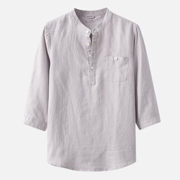 Chinese Style Cotton Thin T shirts