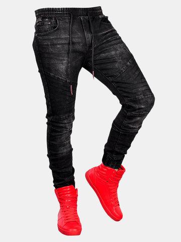 Pietra a mezza altezza lavata Jeans