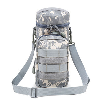Men Nylon Tactical Camouflage Kettle Bag