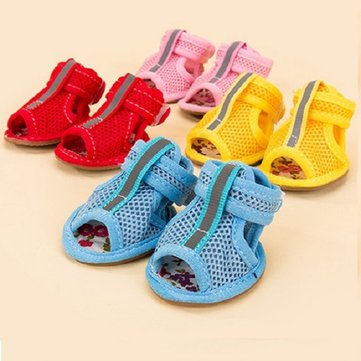 Dog Sandals Boots  Dog Shoes Booties Adjustable