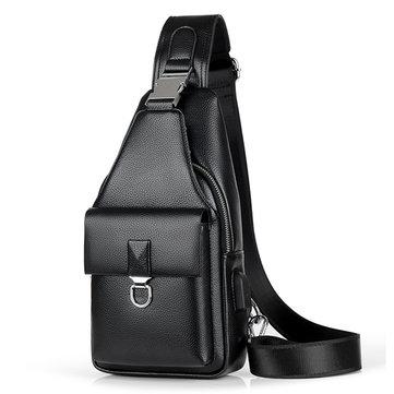 الأعمال عارضة USB ميناء الشحن حقيبة الرافعة حقيبة الصدر