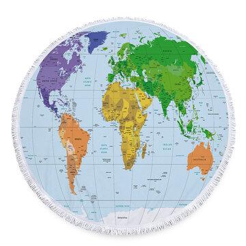 Buy World Map Print Dresses Online Best Cheap World Map Print