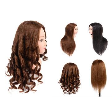 80% Tête de formation de cheveux humains