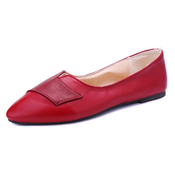 Large Size Hear-Shaped Flats, Grey pink black red