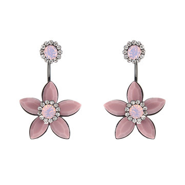 JASSY® Elegant Flower Diamond Earrings