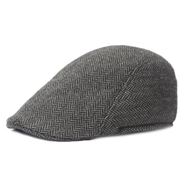 Lattice Cotton Retro Beret Cap