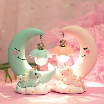 Unicorn Light Moon Lamp
