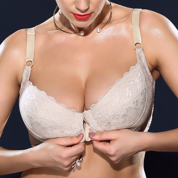 562a5f2f299 H Cup Front Closure Gather Plus Size Bra