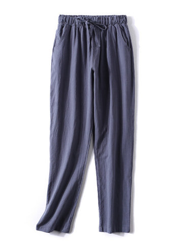 Casual Drawstring Loose Pants