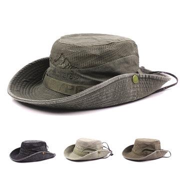 Embroidery Visor Bucket Hats 2b3b9dd8e527