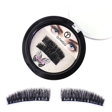 O.TWO.O Magnetic Eye Lashes, White